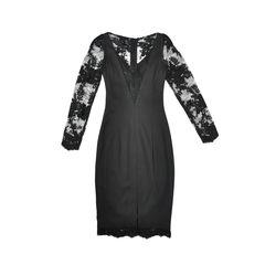 Georgine lace sleeved stretch dress 2