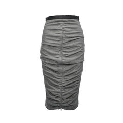 Ruched Stretch Skirt