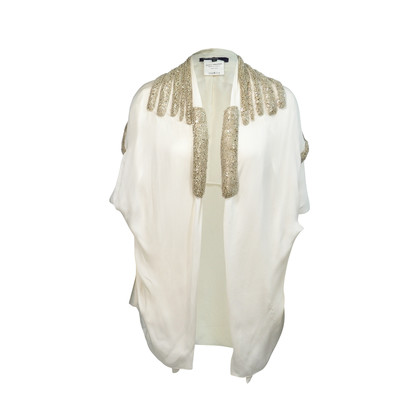 Authentic Second Hand Sharon Wauchob Embellished Draped Vest (PSS-074-00074)