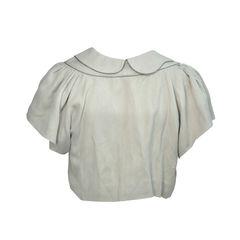Anne valerie hash cropped beige jacket 2