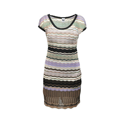 Authentic Second Hand M Missoni Shimmer Knit Dress Pss