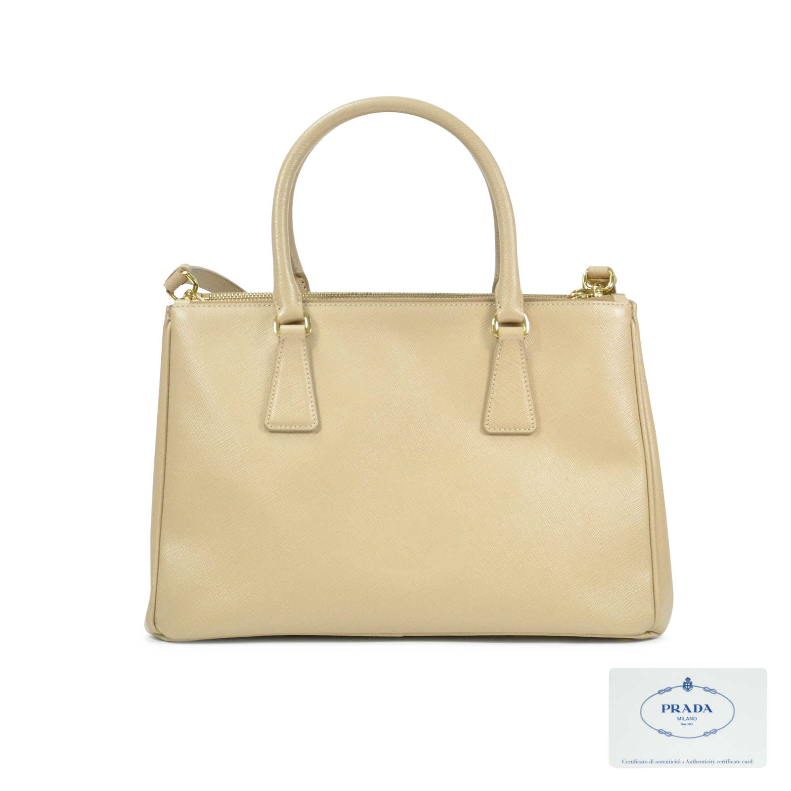 a0b03b2f7a29 ... tote yellow leather satchel 19284 f6b98; shopping authentic pre owned prada  saffiano lux double zip bag pss 048 00032 c6952 1313f