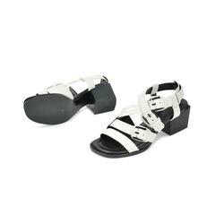 3 1 phillip lim bee lizard emboss sandals 2