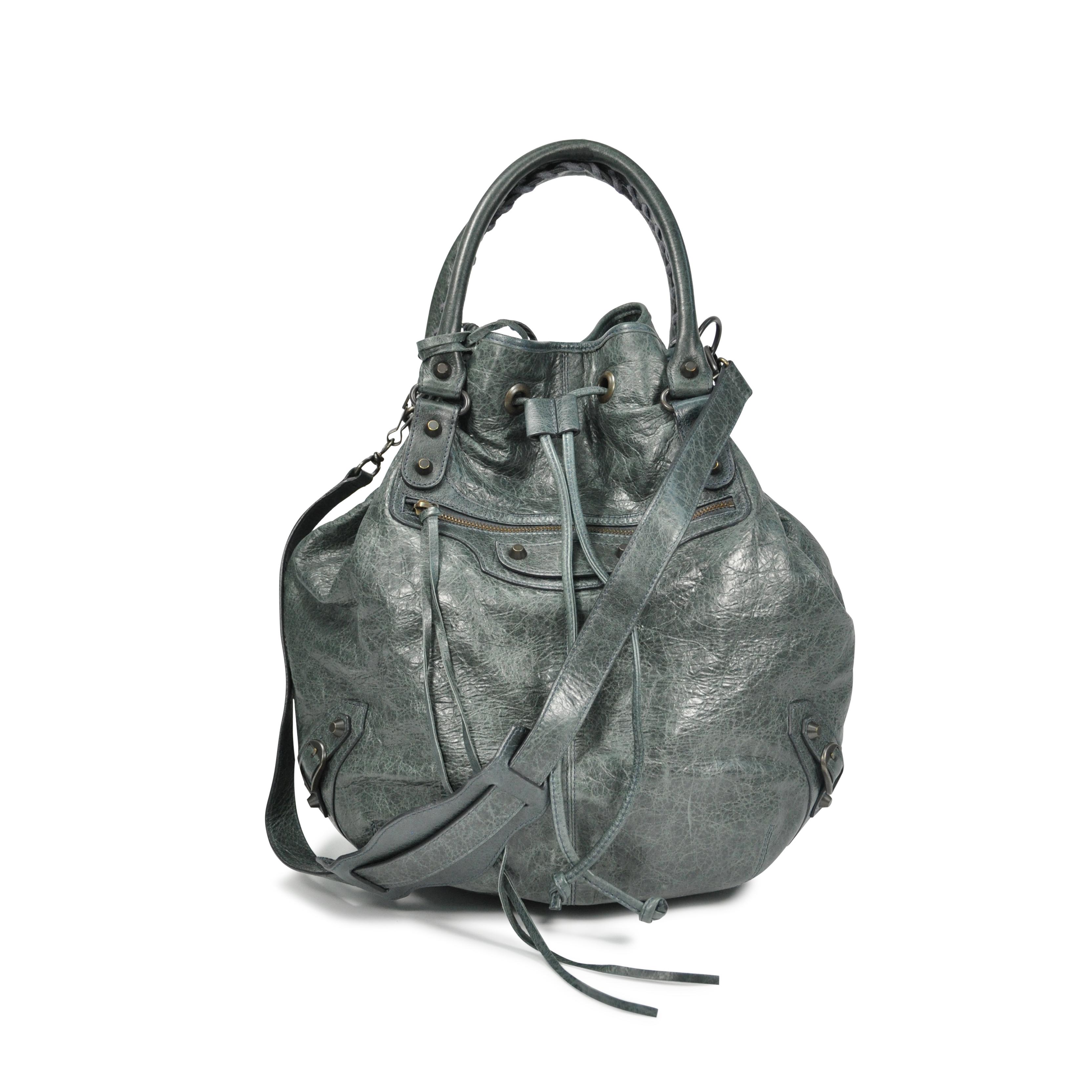 4255768340b0 Authentic Second Hand Balenciaga Pompon Bag (PSS-133-00011)