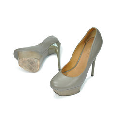 L a m b nikko leather platform pumps 2