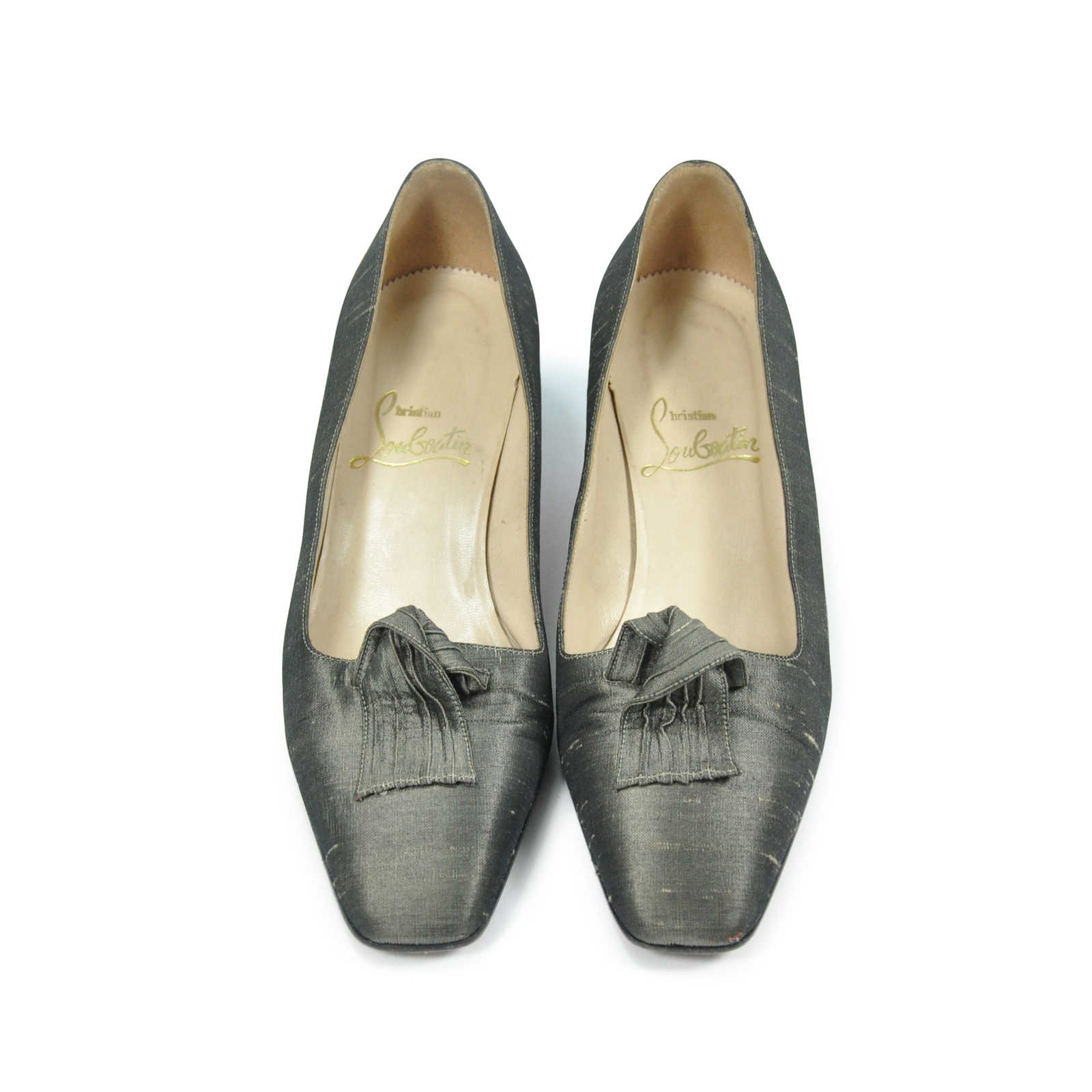 29a67594874a Authentic Second Hand Christian Louboutin Silk Pumps (PSS-067-00025) -  Thumbnail ...