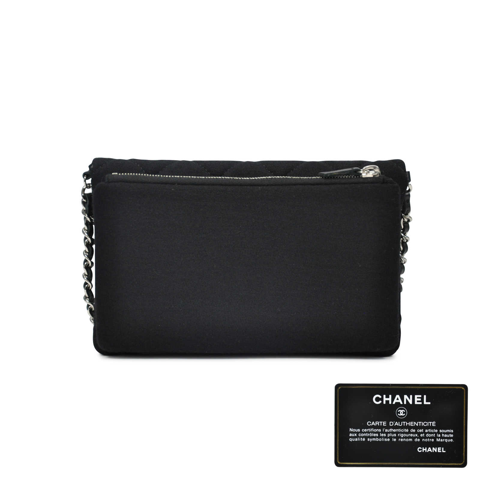 abb35a4c5c8dad ... Authentic Second Hand Chanel Jersey Sling Bag (PSS-136-00015) -  Thumbnail ...