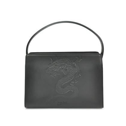 Pochette Jean Paul Gaultier, Noir, Cuir, 2017, Une Taille,