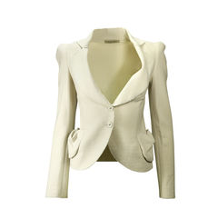Raw Edged Blazer