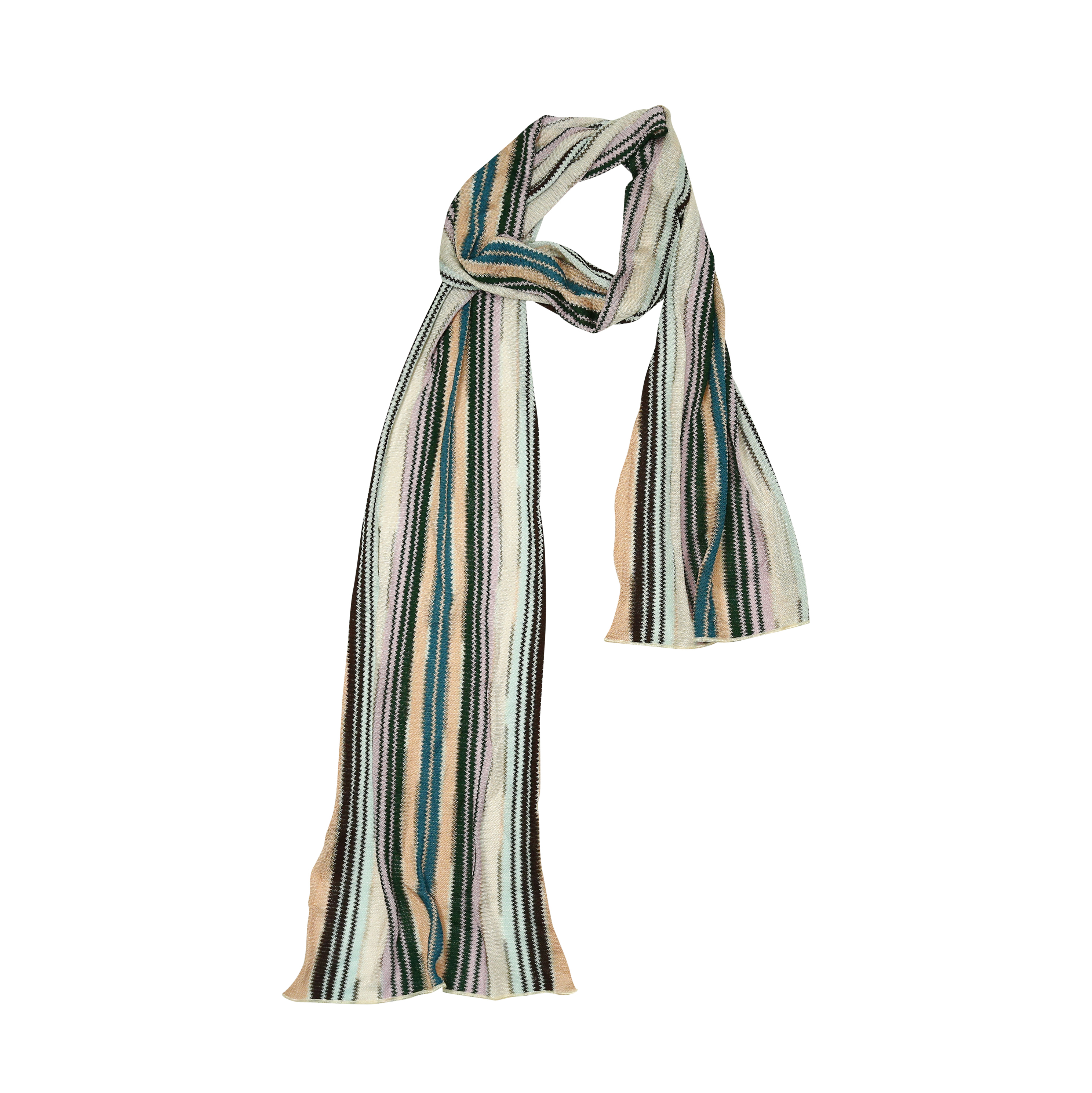 second missoni knitted scarf the fifth collection