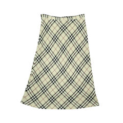 Burberry checkered skirt pss 047 00170 2