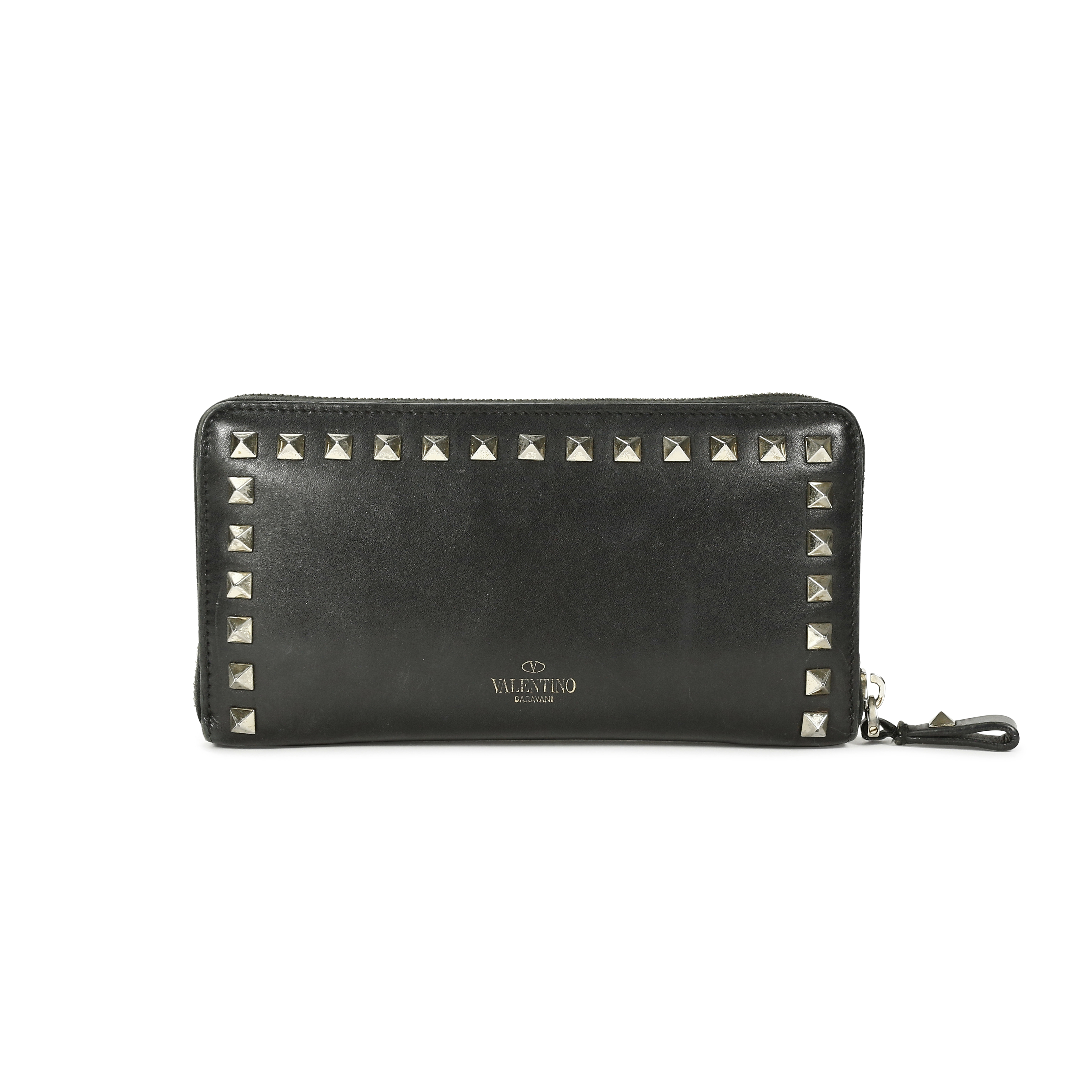 Second Hand Valentino Rockstud Wallet | THE FIFTH COLLECTION