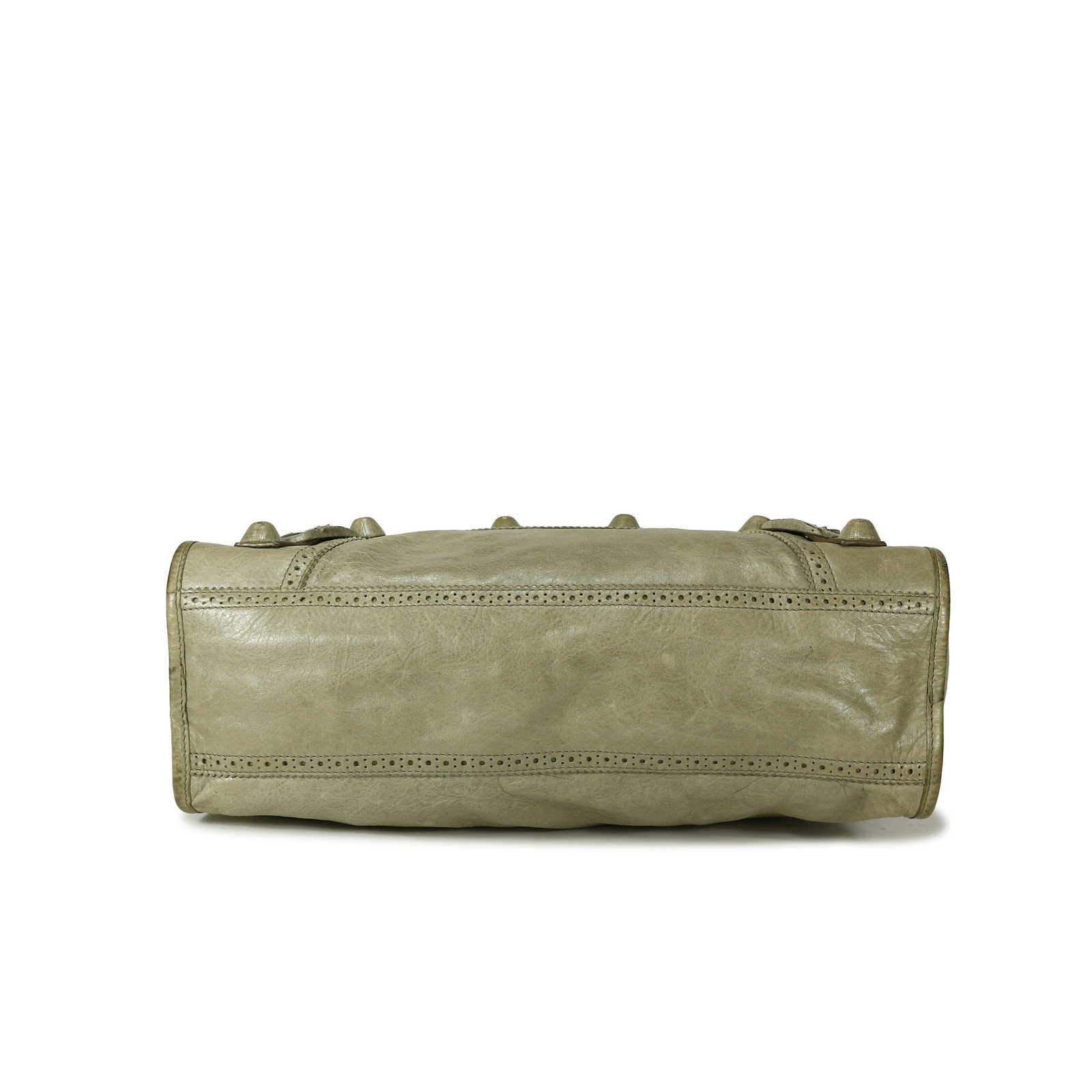 a3b878f1142c ... Authentic Second Hand Balenciaga Giant Motorcycle City Bag  (PSS-139-00002) ...