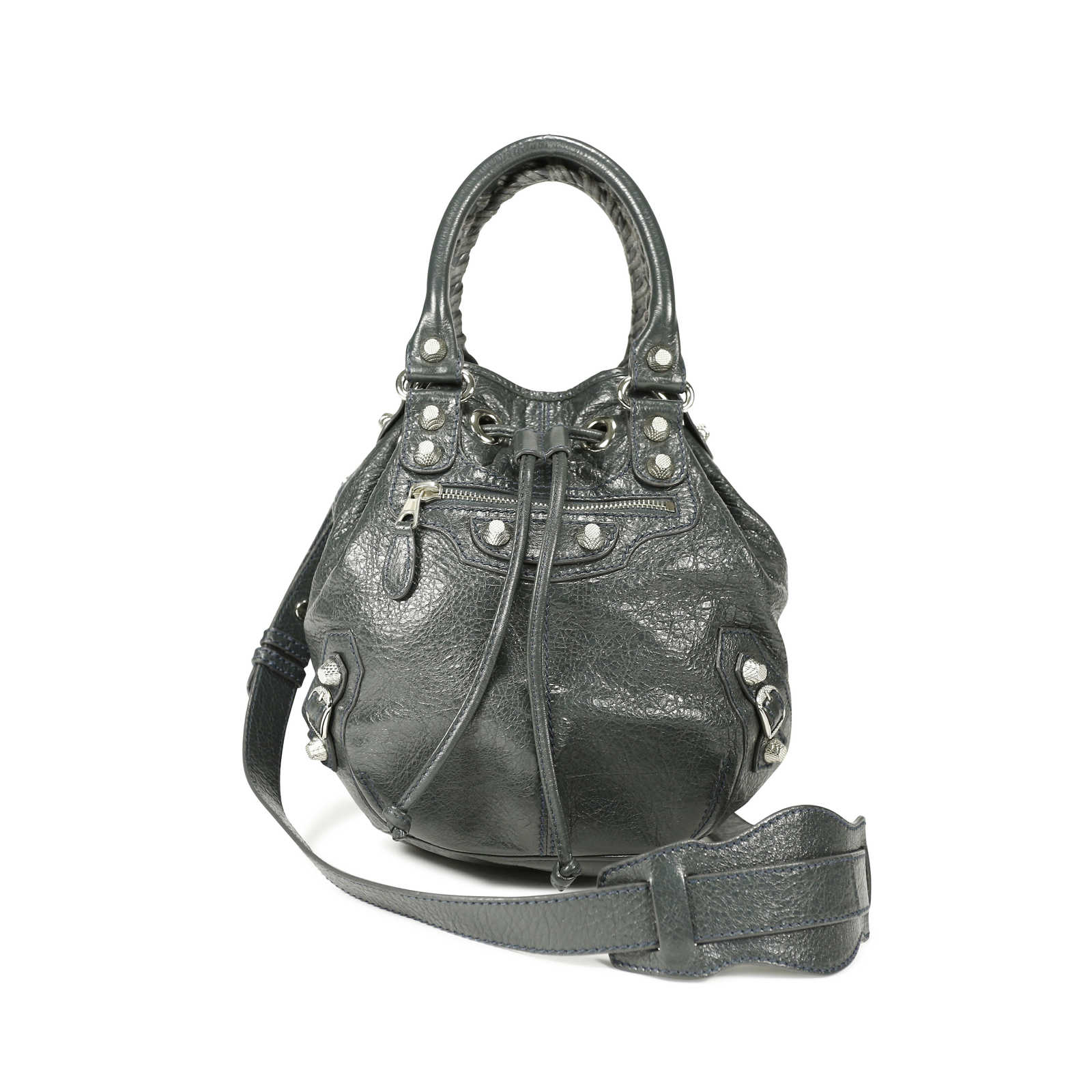 ee4157808a Authentic Second Hand Balenciaga Mini Pompon Bag (PSS-139-00003) -  Thumbnail ...