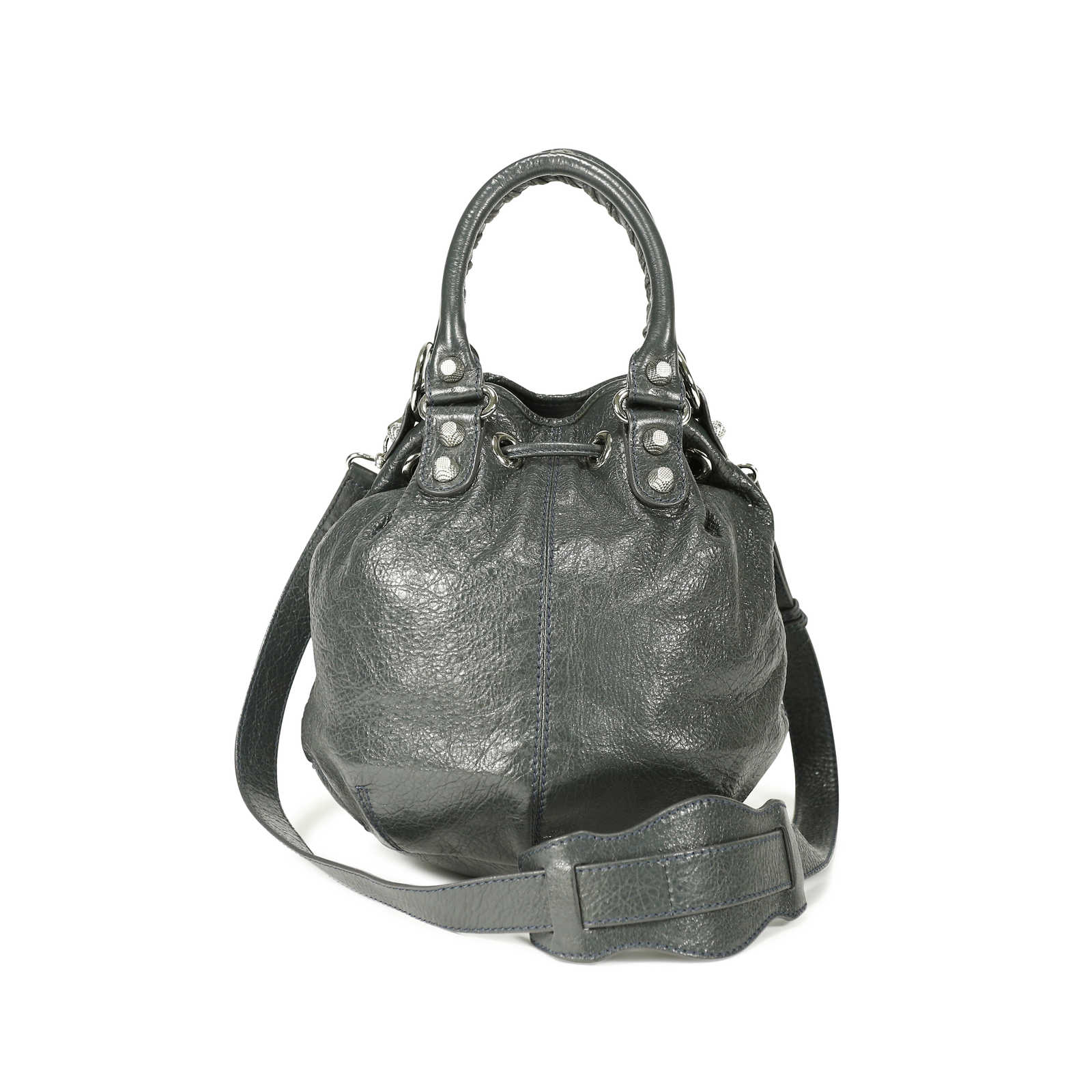 ... Authentic Pre Owned Balenciaga Mini Pompon Bag (PSS-139-00003) -  Thumbnail ... 42c195004f