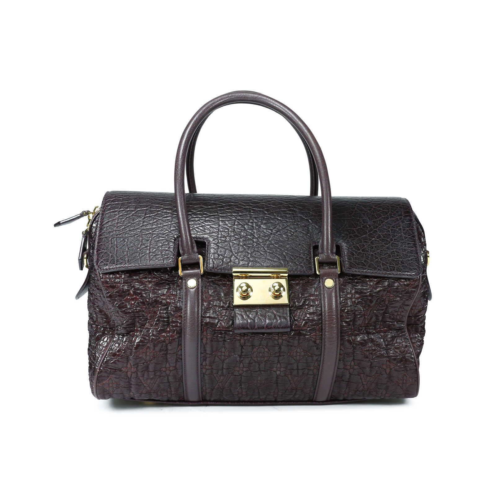 Tap to expand · Authentic Second Hand Louis Vuitton Pebbled Leather and  Fabric Bag (PSS-143-00001 ... 6128868f47c73