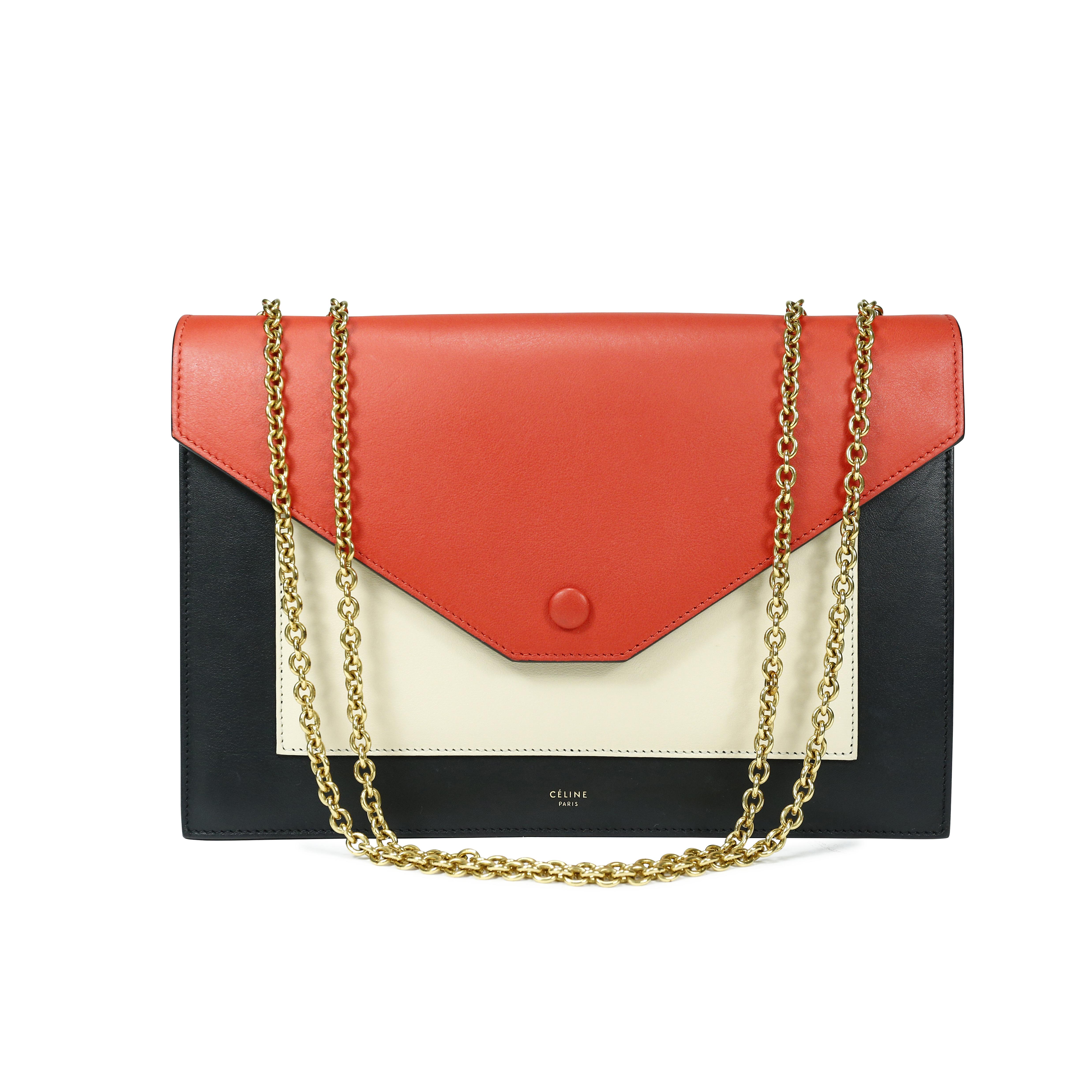 7c491bf892e3b Authentic Second Hand Céline Pocket Flap Bag (PSS-143-00002)