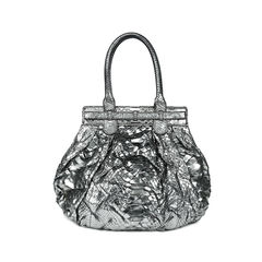 Zagliani python shoulder bag 2