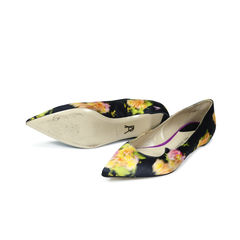 Paul andrew floral pointed flats 2