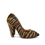 Authentic Second Hand Mulberry Zebra Pony Hair Pumps (PSS-143-00017) - Thumbnail 3