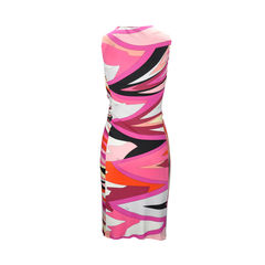 Emilio pucci printed dress with side gather 2