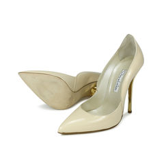 Oscar de la renta pointed pumps 2