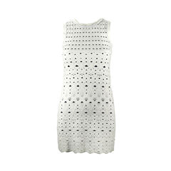 Knit Dress with Cut Out