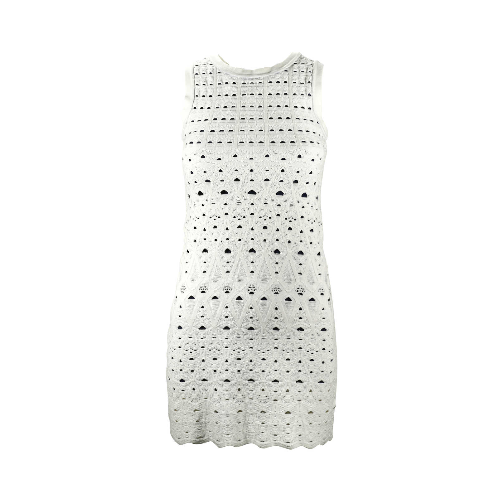 Second Hand Chanel Knit Dress With Cut Out