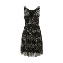 Beaded Georgette Dress