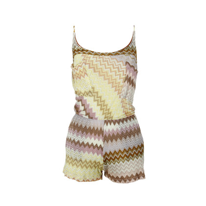Authentic Second Hand Missoni Knitted Playsuit (PSS-075-00031)