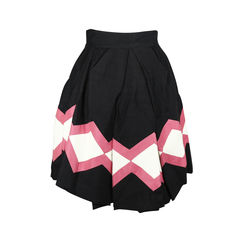 Gucci geometric skater skirt 2