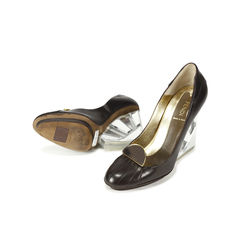 Fendi mirror pumps 2
