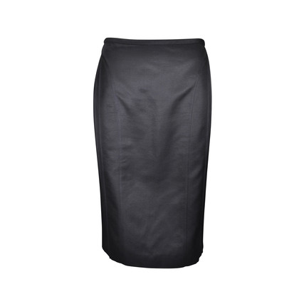 Authentic Second Hand Narciso Rodriguez Pencil Skirt with Back Pleats  (PSS-067-00081)