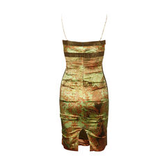 Nicole miller printed silk dress 2