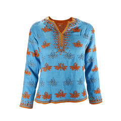 Roberta freymann beaded kaftan top 2