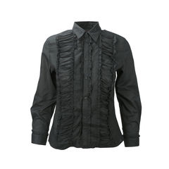 Frill Panelled Blouse