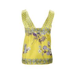 Etro floral silk top 2