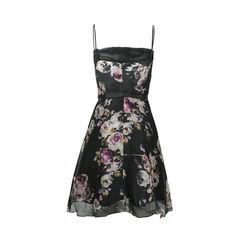 A b s allen schwartz floral dress 2