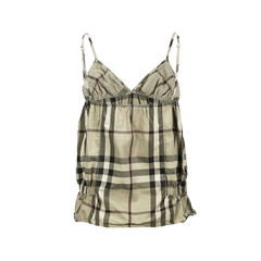 Burberry body checkered top 2