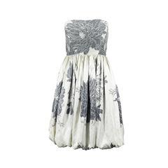 Floral Printed Bubble Dress