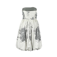 Jill stuart floral printed bubble dress 2