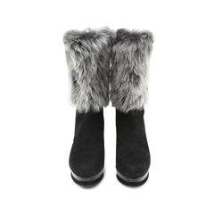 Rabbit Fur Boots