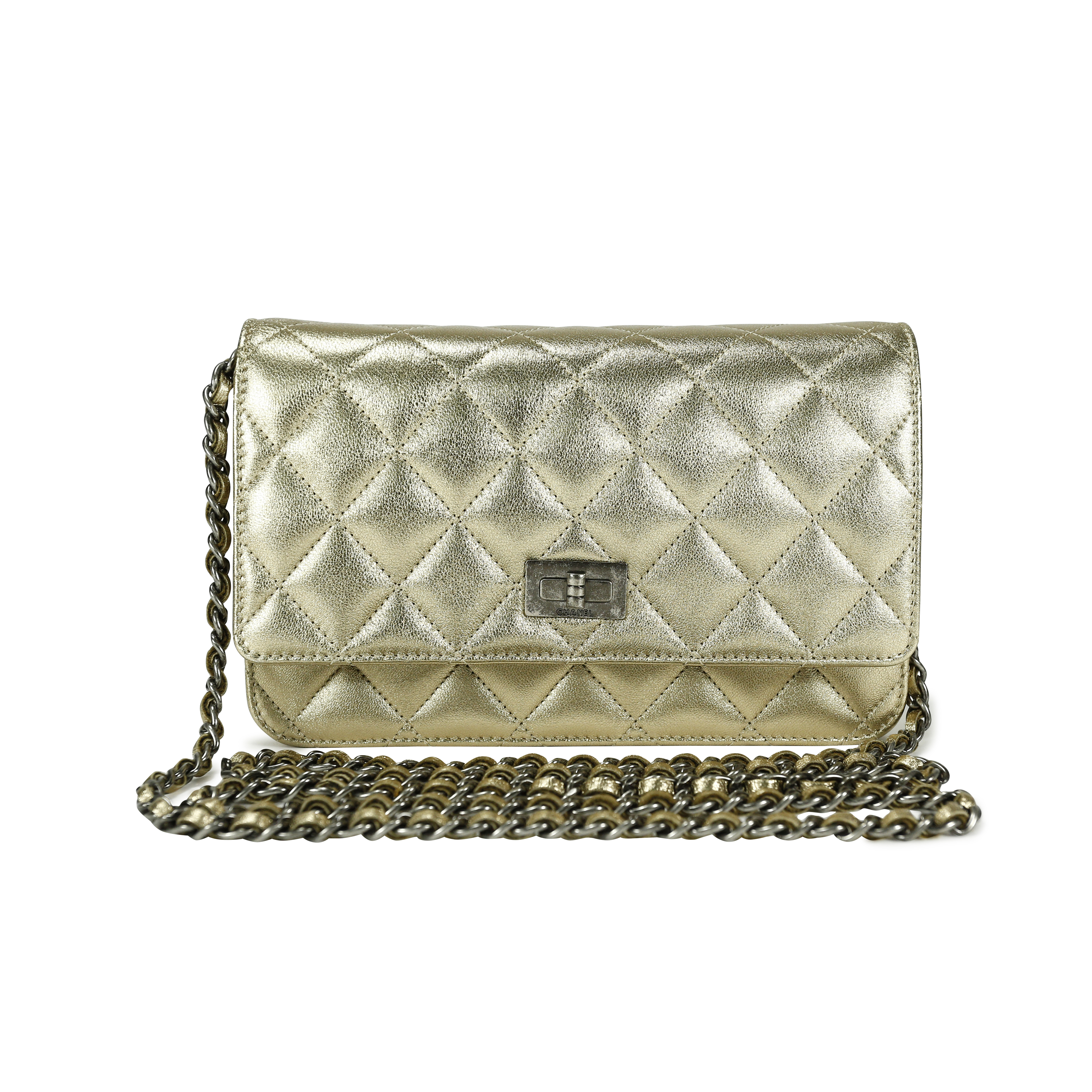 Authentic Pre Owned Chanel Timeless Reissue Wallet on Chain (PSS-145-00022)    THE FIFTH COLLECTION® 794933d479d