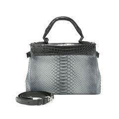 Ethan k wl crocodile and snakeskin bag 2