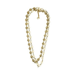 Pearl and Chain Link Necklace