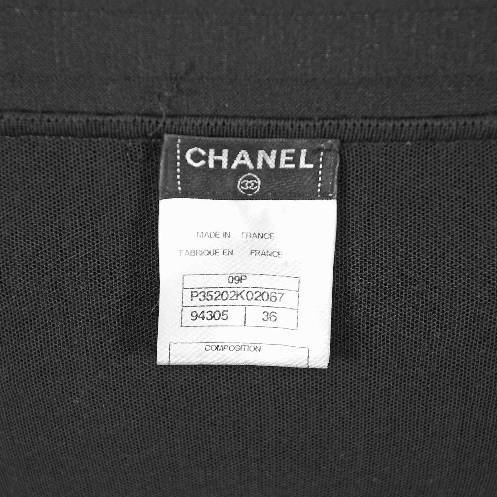 Authentic Second Hand Chanel Knit Dress (PSS-049-00003