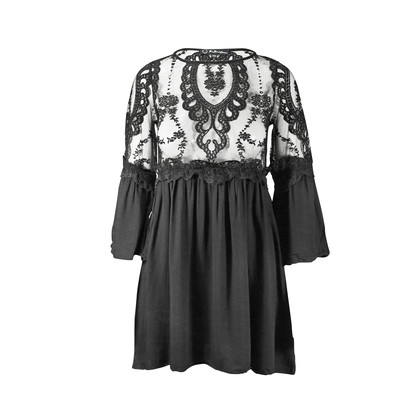 Authentic Second Hand For Love and Lemons Laced Top Dress (PSS-147-00010)