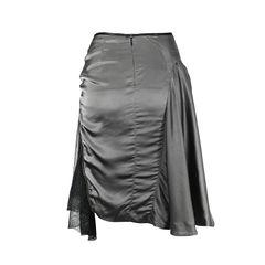 Mcq alexander mcqueen mesh and zip detail skirt 2