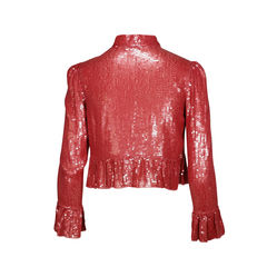 Generra ruffled sequin jacket 2