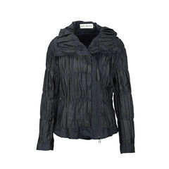 Pleated Ruched Jacket